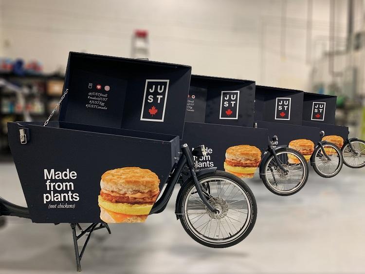 Bicycle Advertisement Toronto